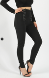 Womens Lace Up Pants