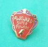 Lapel Pin • Awkward Super Powers