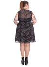 Spin Doctor Plus Size Shadow of Zennor Mini Dress