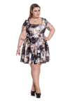 Plus Size • Donnatella Dress • Spin Doctor
