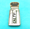 salt shaker jewellery Alt finery present gift funny brooch lapel pin pin salty pin salty Salty lapel pin jubly umph