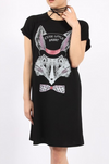 Womens Long Rabbit T Shirt