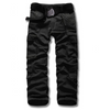 Mens Cargo Pants • Black