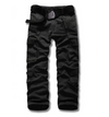 mens wear Mens Cargo Pants Cargo pants men's Men Streetwear Cotton Buy Fashion Australia summer Alt finery BLACK