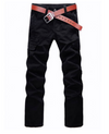 Streetwear straight leg cargo pants Mens Cargo Pants men's Cargo pants Buy Fashion Australia black cargo pants BLACK altfinery Alt finery
