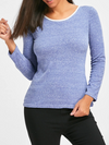 Womens Blue Sweatshirt