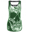 Womens Tank Top • Skull and Tree Print