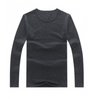 Crewe Neck Round neck Sweat shirt Long sleeve t-shirt long sleeve top Dark grey