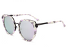 round cat eye daylesford sunglasses daylesford Purple mirrored lens sunglasses Mirrored Lens womens sunglasses sunglasses