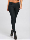 Womens High Waisted Black Skinny Jeans