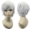 Cosplay Wig • Pixie Cut • White