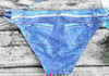 Bathers/ Swimwear • Denim Look Bikini