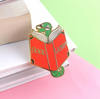 Lapel Pin • Book Worm