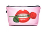 Cosmetic Bag • Lips with Rose