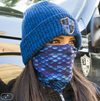 Face Shield/ Tubular Bandana • Mermaid Scales