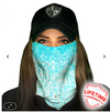 Face Shield/ Tubular Bandana • Tidal Waves