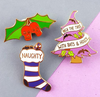 Lapel Pin Set • Spooky Xmas • By Jubly Umph