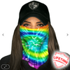 Face Shield/ Tubular Bandana • Rave
