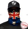 Face Shield/ Tubular Bandana • Australian Flag