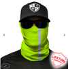 Face Shield / Tubular Bandana • Reflective / Electric Green
