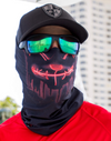 Face Shield/ Tubular Bandana • Neon Red Purge