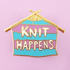 Lapel Pin • Knit Happens