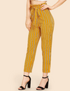 Womens Striped Pants