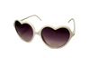 Sunglasses • White Heart