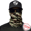 Face Shield / Tubular Bandana • Basic Military Camo