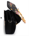 Womens Bag Liquorbrand Sparrows Black Bamboo Handle