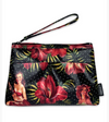 Womens Liquorbrand Makeup Bag Hula Girl