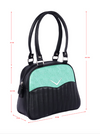 Liquorbrand Chevron Bowler Bag Green