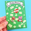 Jubly Umph Lapel Pin Set • Fiesty Feminist
