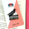 Jubly Umph Lapel Pin • Black Raven Reader
