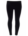 Plus Size Plain Viscose Legging
