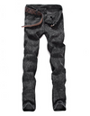 Men's Jeans • Black Snow Washed Denim