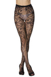 Pantyhose • Sexy Charming Floral Pattern Fishnet