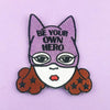 Jubly Umph Embroidered Patch • Be Your Own Hero