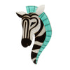 Erstwilder Brooch Zelda The Zany Zebra