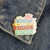 Jubly Umph Lapel Pin • Read Diverse Books