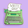 Jubly Umph Lapel Pin • Write On!