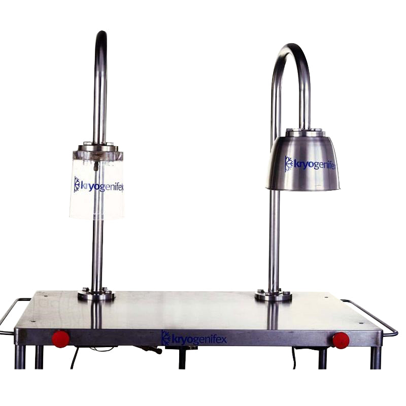 Kryo® Glass Lamp Chiller (Glass and Stainless Steel Hood)