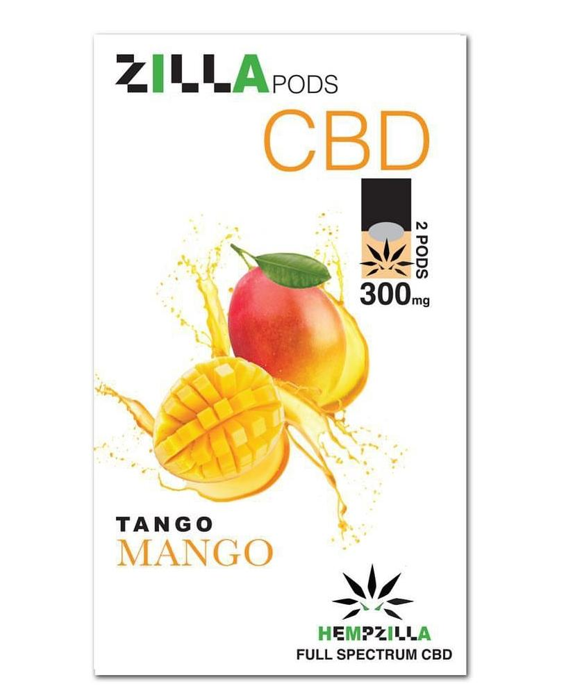 Mango Tango Zilla Pods ( Juul Compatible  are now available at www.cbdfactorydirect.com