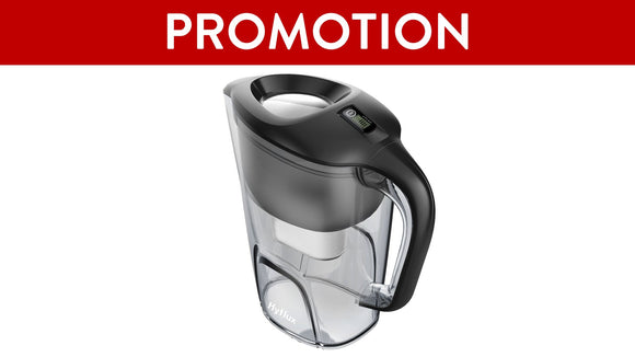 SPRING Water Filtration Pitcher S38 (Black)