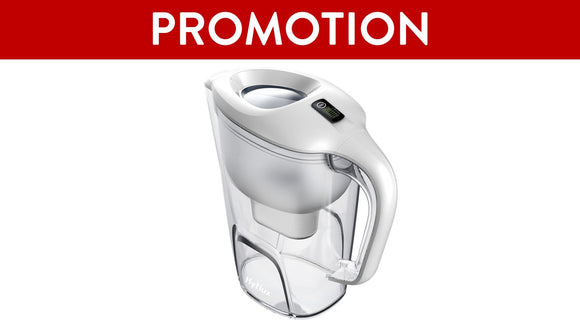 SPRING Water Filtration Pitcher S38 (White)