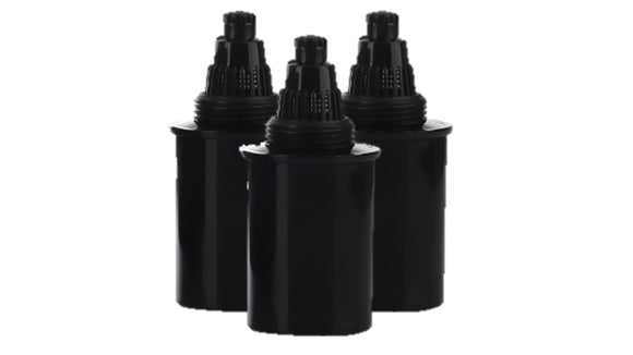 Cartridges for D-FLUORIDE Pitcher DFC48 (Black)