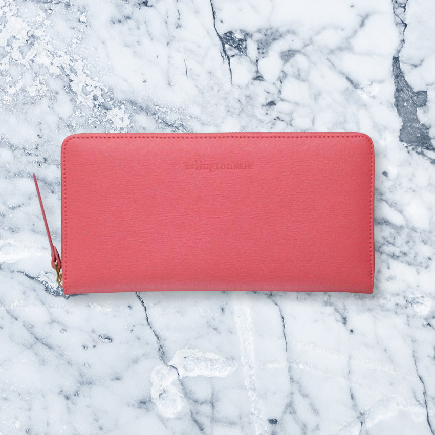 Arlington Milne Large Wallet, Watermelon Pebble