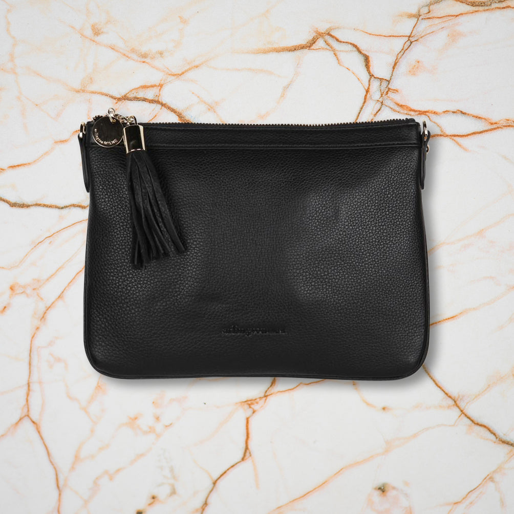 Arlington Milne Coco Clutch, Black