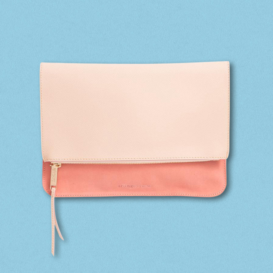 Arlington Milne Ella Fold Over, Nude / Blush