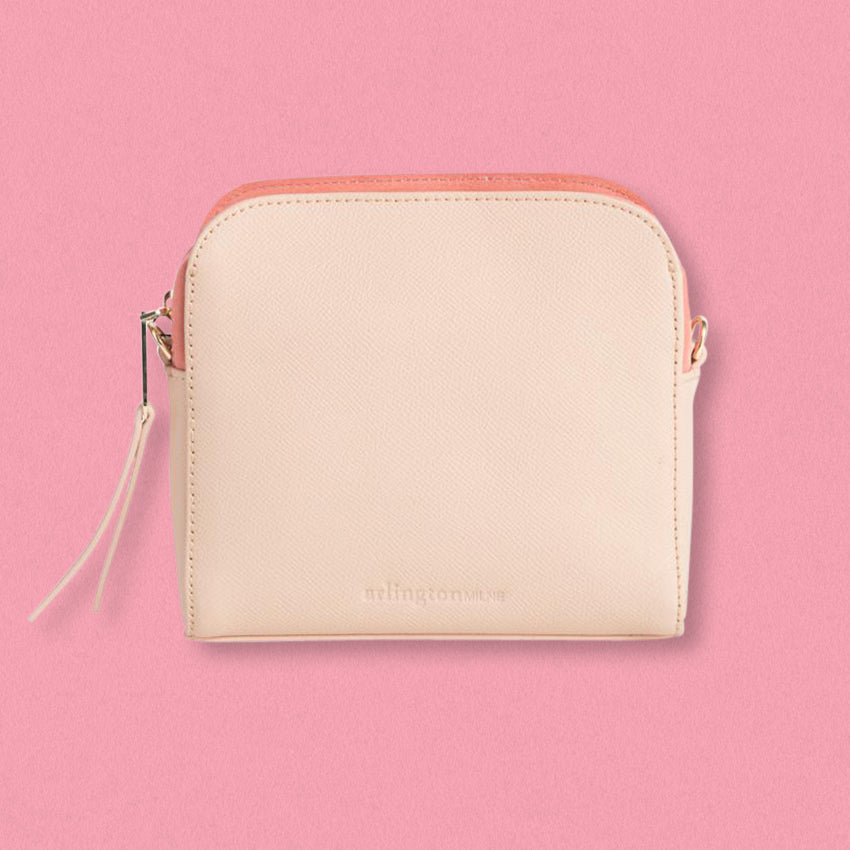 Arlington Milne Erica Crossbody, Nude / Blush